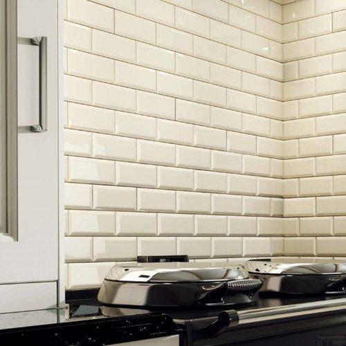 Wandtegel Biselado 15x20 Blanco (prijs p/m2)