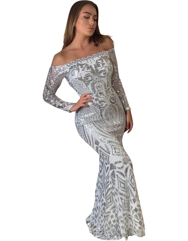 Unique Dresses Leisha white