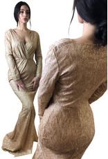 Unique Dresses Laurie Golden Dress