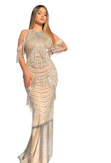 Unique Dresses Argjenda Beaded Dress