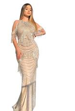 Unique Dresses Argjenda Beaded Dress