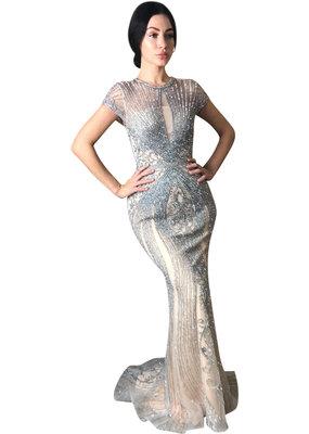 Unique Dresses Armina - Silver