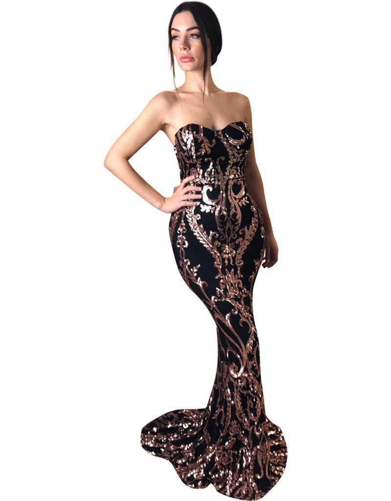Unique Dresses Valdrina Rose Dress