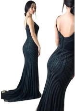 Unique Dresses Hilal Black Dress