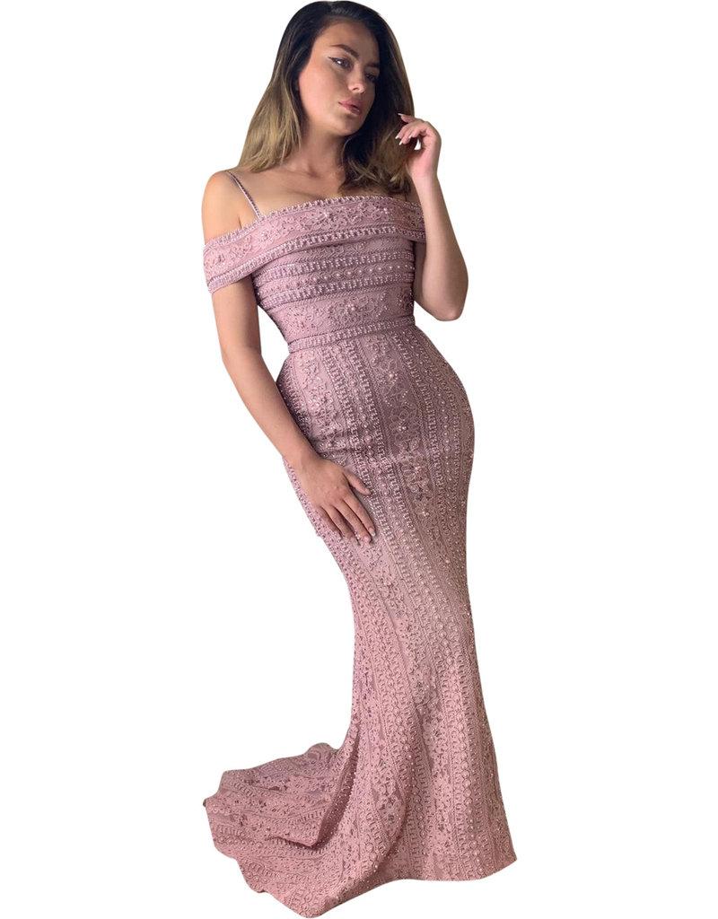 Unique Dresses Layali Pink