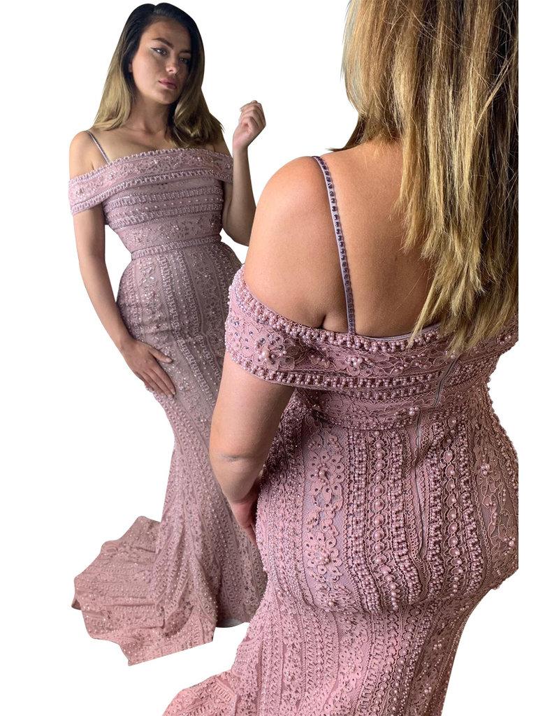 Unique Dresses Layali Pink Dress
