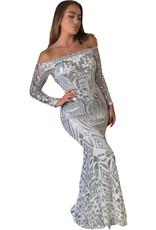 Unique Dresses Alexiya White Dress
