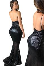 Unique Dresses Leilani  Black Dress