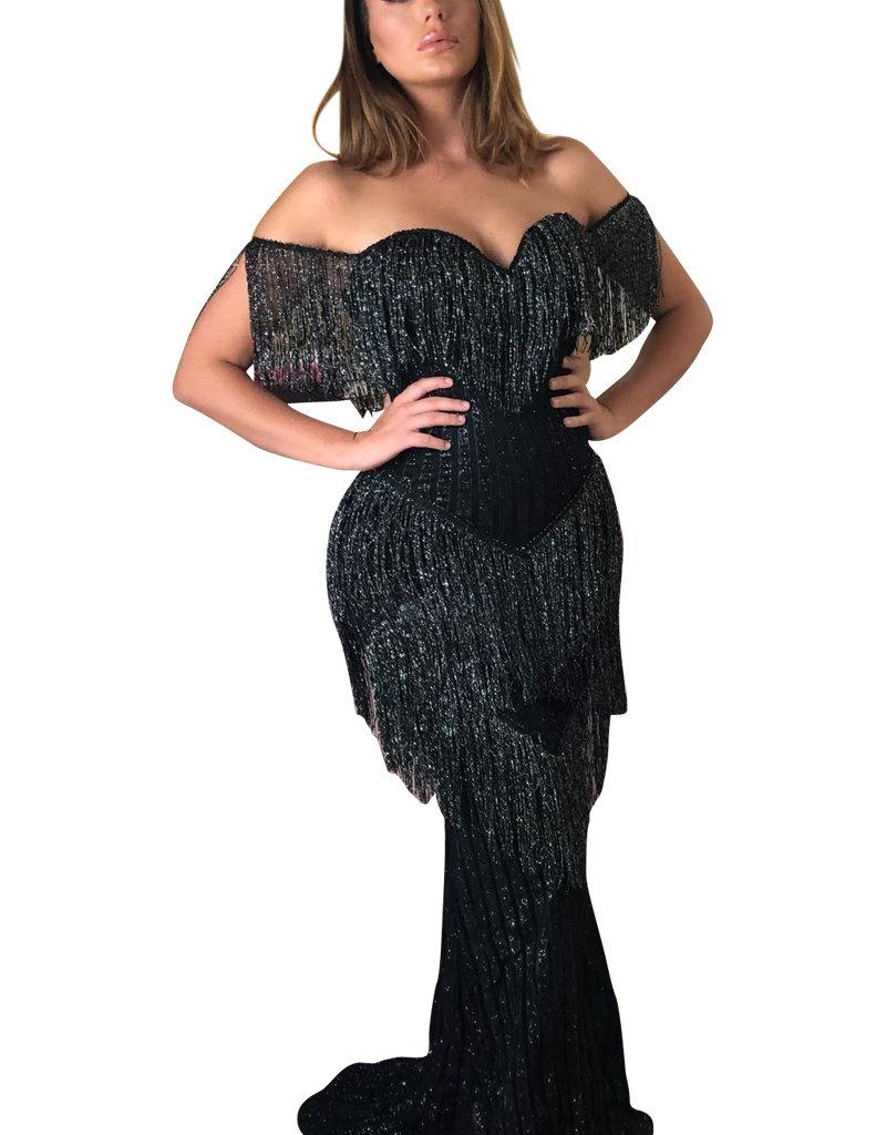 Unique Dresses Sophie Black Dress
