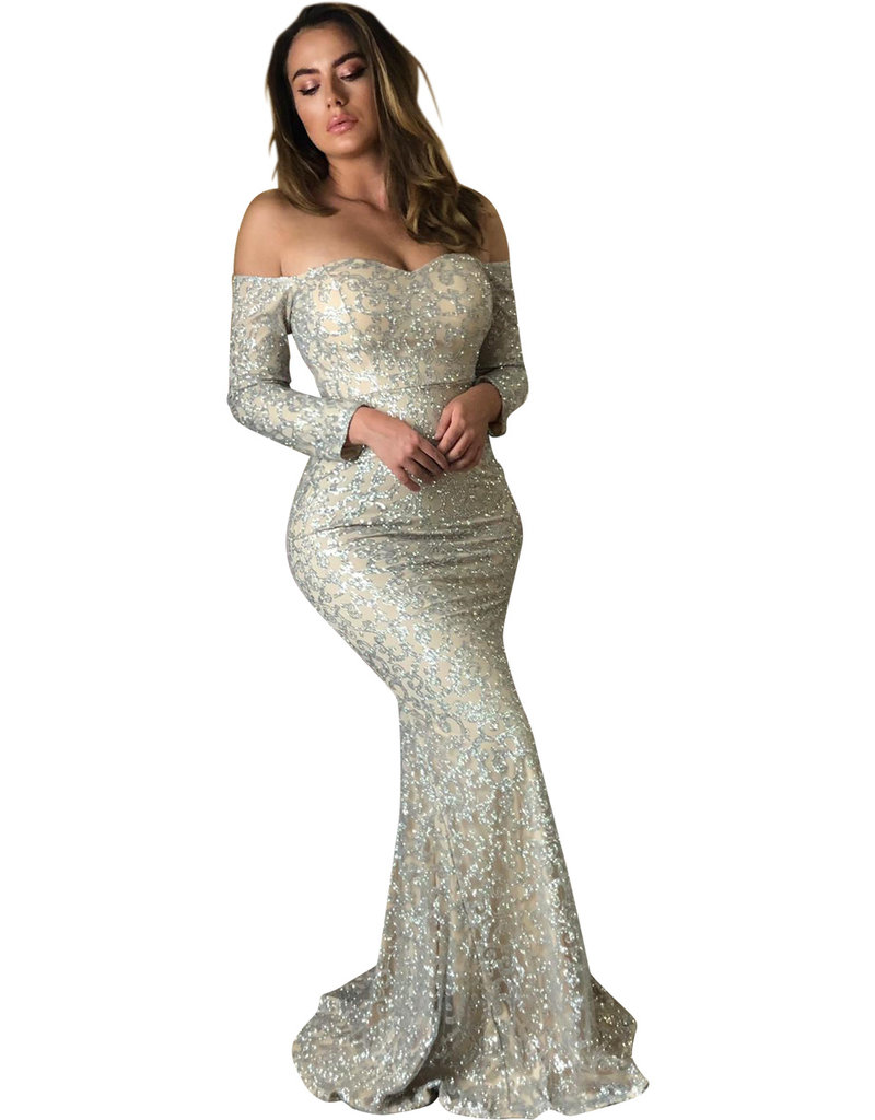 Unique Dresses Jocelina Glitter Dress