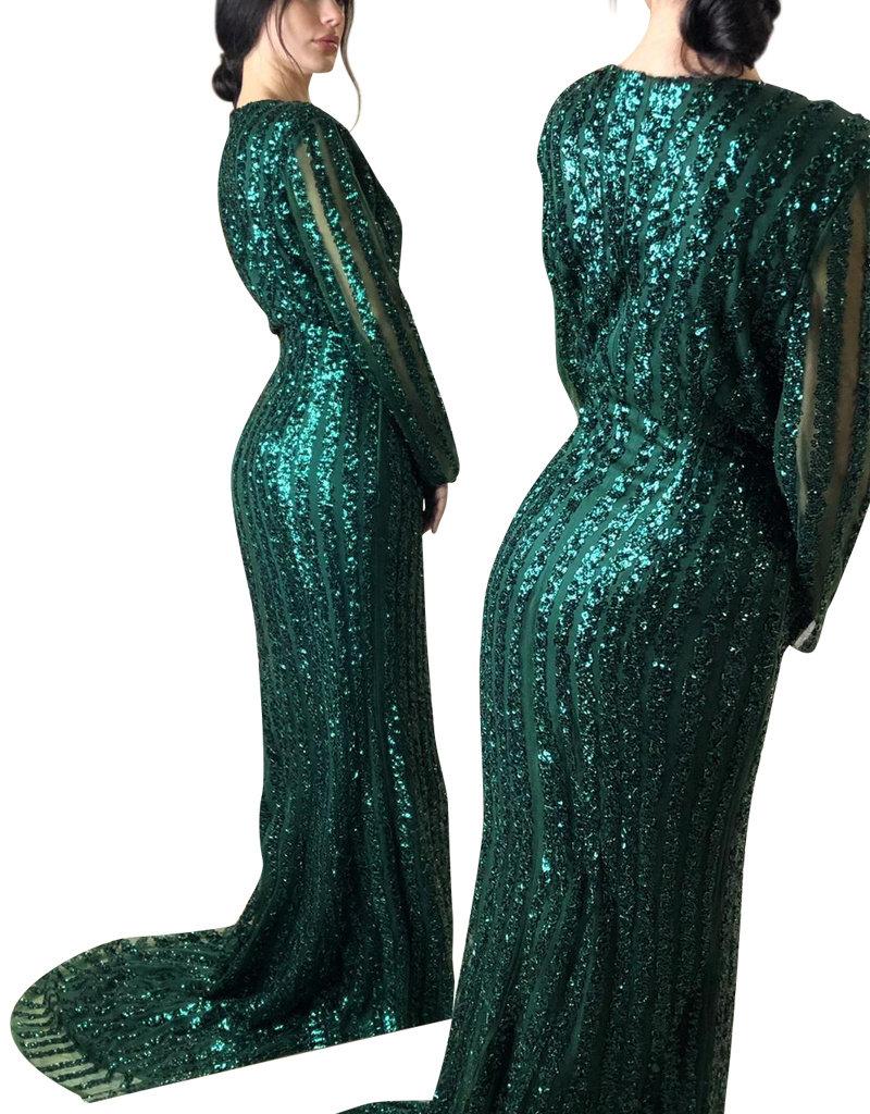 Unique Dresses Salma Green Dress