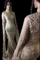 Unique Dresses Zohra Golden Dress