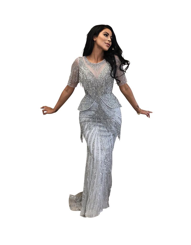 Unique Dresses Rina Silver Dress