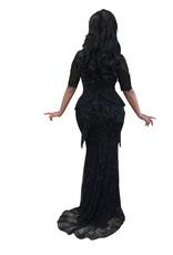 Unique Dresses Rina black