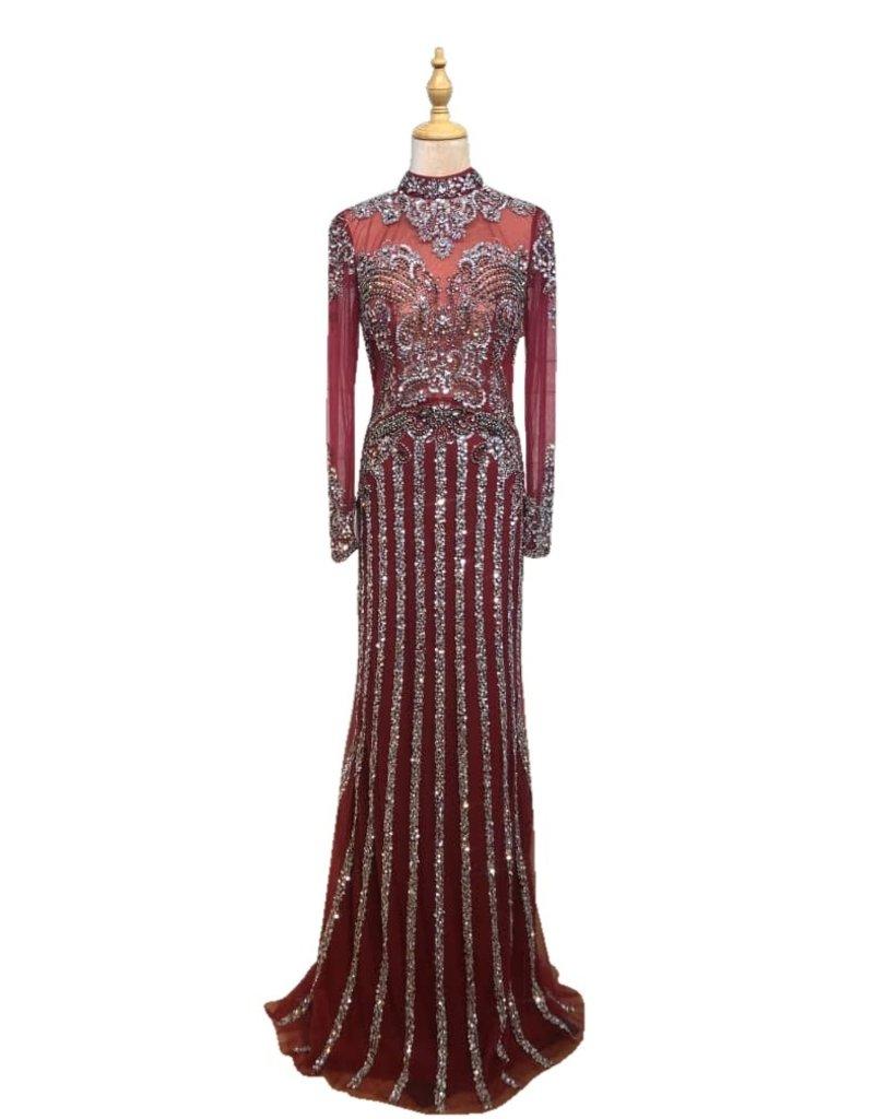 Unique Dresses Mabella Red Dress