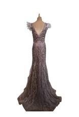 Unique Dresses Mabilia Feather Beaded Dress