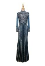 Unique Dresses Mabella Navy Dress