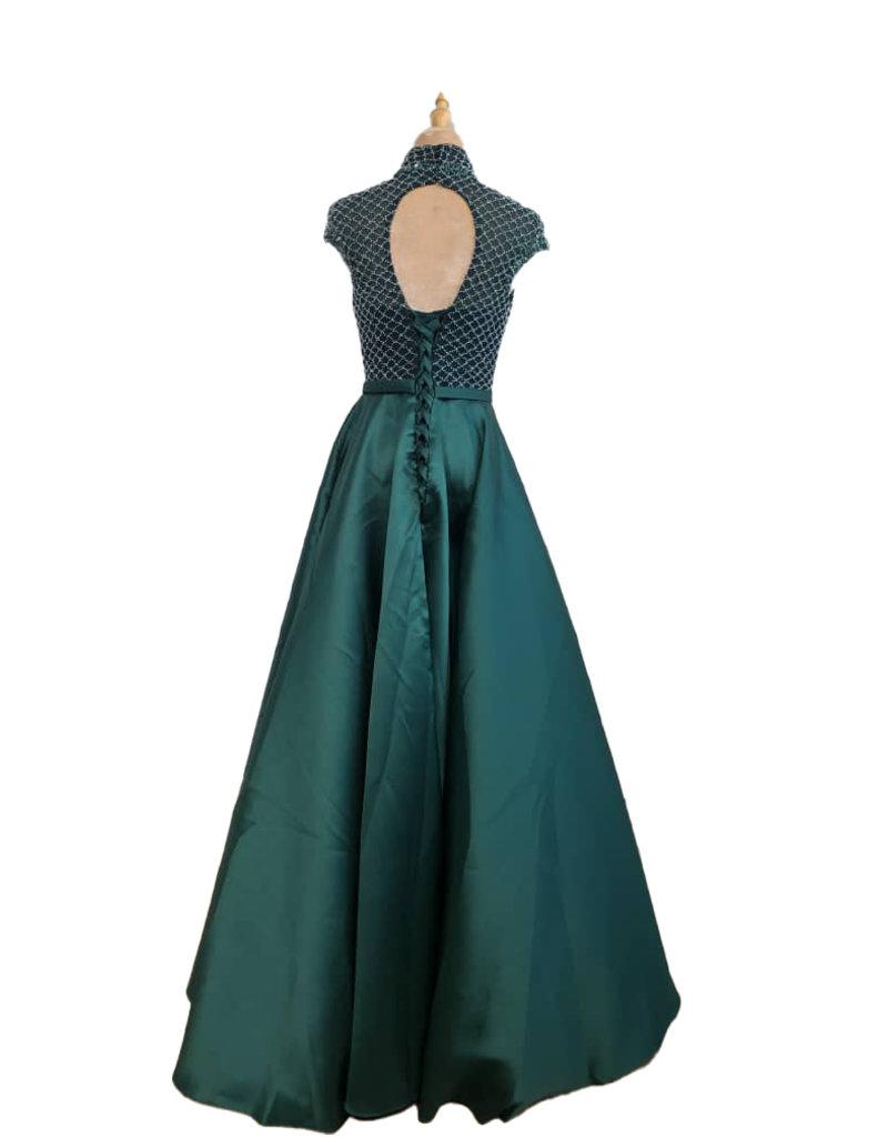 Unique Dresses Katina Olive Green Dress