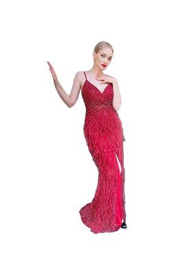 Unique Dresses Shailee Red Dress