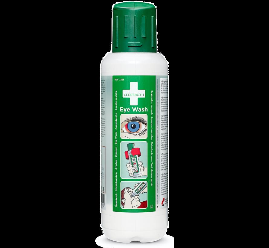 Cederroth oogspoelfles, 500 ml