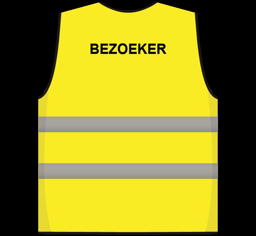 Bezoeker hesje geel