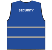 ARBO centrum Security hesje blauw