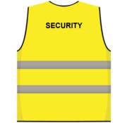 Security hesje geel