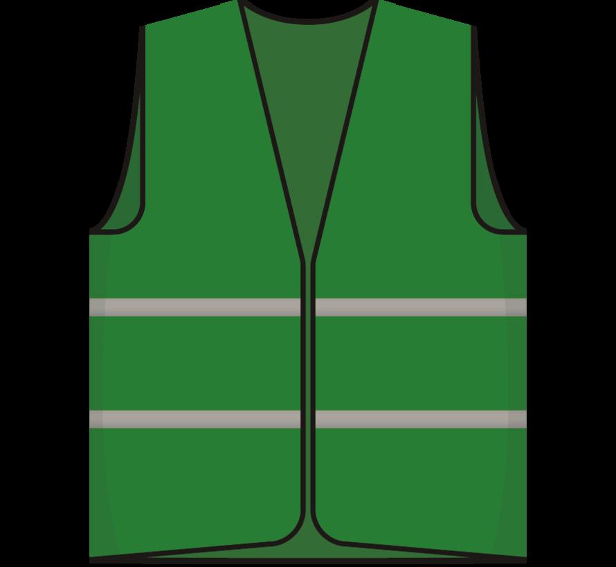 Beveiliger hesje groen