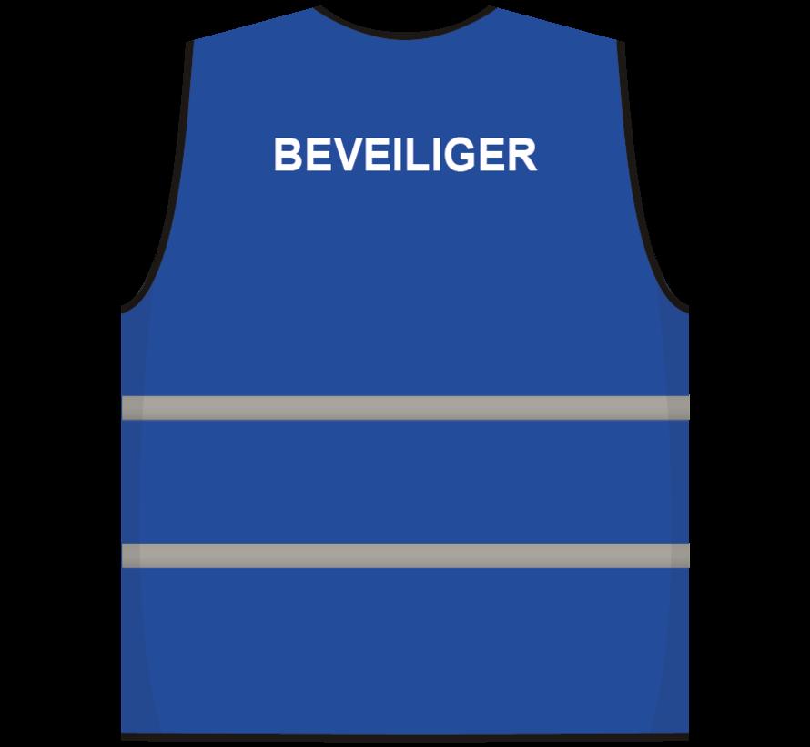 Beveiliger hesje blauw
