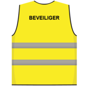 Beveiliger hesje geel