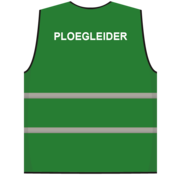 Ploegleider hesje groen