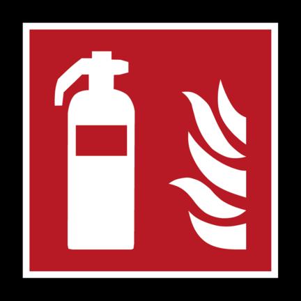 Brandpreventie pictogrammen