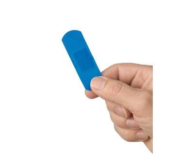 Plast detectable wondpleister, 100 stuks