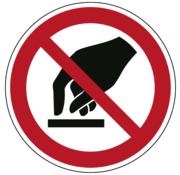 ARBO centrum Aanraken verboden
