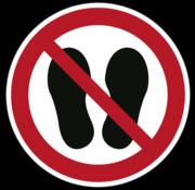 Betreden van ruimte verboden