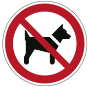 ARBO centrum Dieren verboden