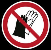 ARBOwinkel.nl Dragen van handschoenen verboden