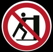 Duwen verboden