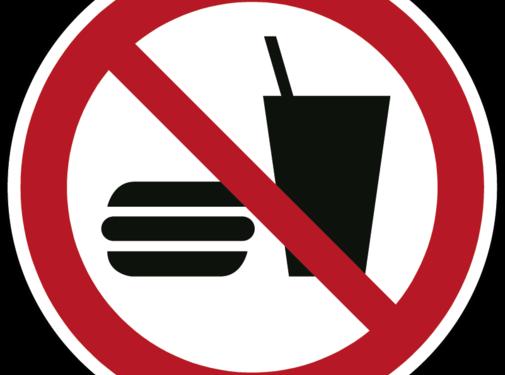 ARBOwinkel.nl Eten en drinken verboden