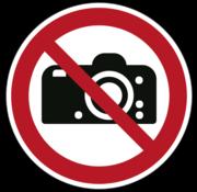 Fotograferen verboden