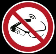 Gebruik van slimme brillen verboden