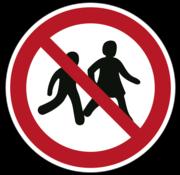 ARBO centrum Kinderen niet toegestaan
