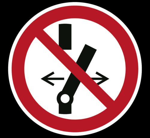 ARBO centrum Niet schakelen pictogram