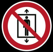 Personenvervoer verboden