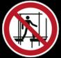 Verboden een onafgewerkte stelling te gebruiken pictogram