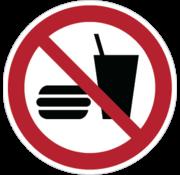 ARBO centrum Eten en drinken verboden