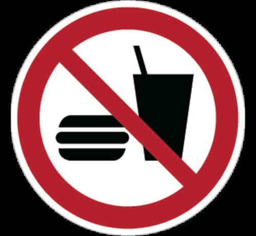 ARBO centrum Eten en drinken verboden pictogram