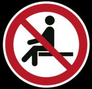 ARBOwinkel.nl Verboden te zitten