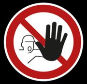 ARBO centrum Verboden toegang voor onbevoegden