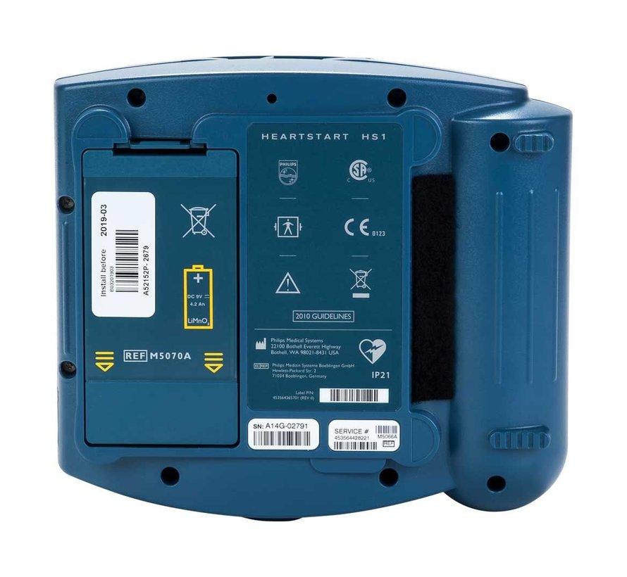 Philips Heartstart HS1 halfautomaat met draagtas en safeset